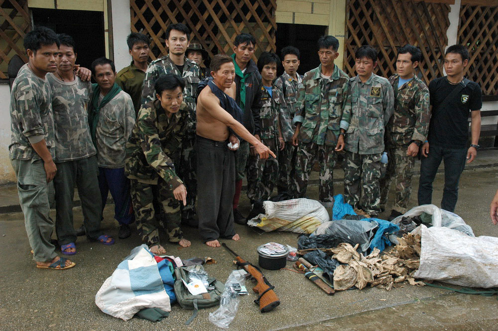 Tiger Poacher Arrest Thailand 01